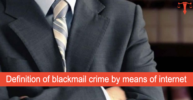 Blackmailing is a crime essay